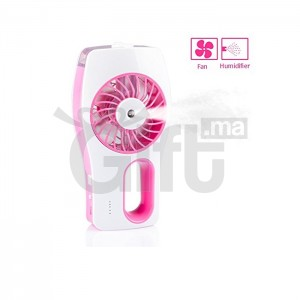 Ventilateur Purificateur d'Air - 2 en 1  Mini-Ventilateur Humidificateur