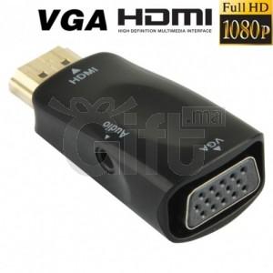 Adaptateur HDMI vers VGA - Full HD 1080P + Audio