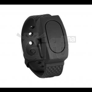 Bracelet distributeur de Gel hydroalcoolique Noir