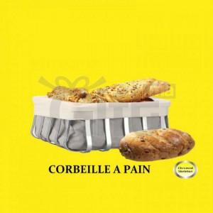 Panier à Pain avec Sac en Toile