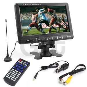 LCD MINI MONITOR / ANALOG TV 8 INCH WIDE