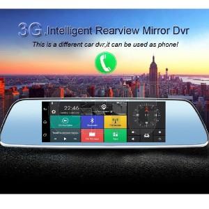 Dashcam Android - Rétroviseur Voiture Avec Écran Tactile 7p