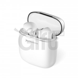 PHOENIX EARPODS HEADPHONES BLUETOOTH AUTONOME ÉTUI AVEC POWERBANK