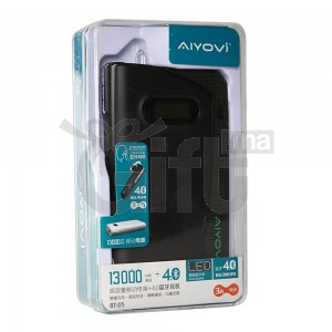 POWER BANK + Mini Écouteur Bluetooth Stéréo 4.0 (13000MAH) - AIYOVI BT-05