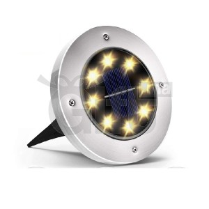 Lampe Solaire De Sol, LED Étanche Extérieur - 1 Pièces