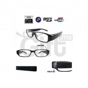Lunettes Espion - caméra HD 720P - Enregistreur vidéo invisible