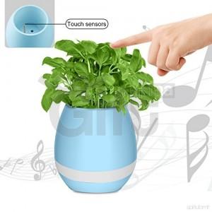 Mini Haut-Parleur Bluetooth - Pot Magique Pour Les Plantes + Lecteur De Musique & Veilleuse