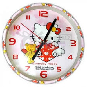 Horloge Murale - Hello Kitty