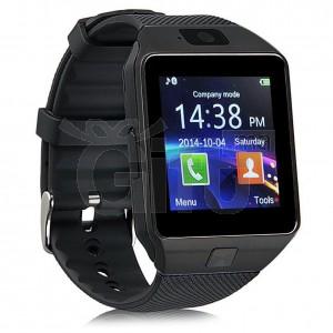 Montre GSM Bluetooth Avec Caméra Carte SIM - SmartWatch - Noir