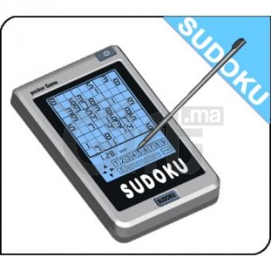 Jeux SUDOKU ELECTRONIQUE - Ecran Tactile