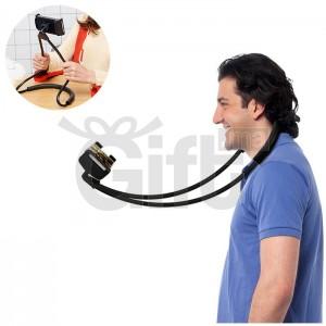 Support de Cou Universel Pour Téléphone Mobil Flexible de 360 ° de Rotation