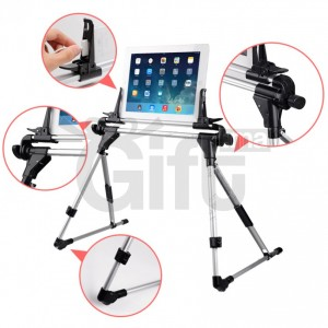Support iPad et Tablette - Argent