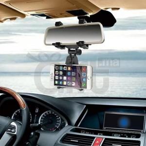 Support De Rétroviseur Voiture Pour Téléphones, GPS