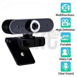 Webcam USB Caméra numérique HD avec microphone Clip