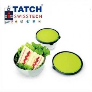 3 Boites Alimentaires en plastique - Tatch SwissTech