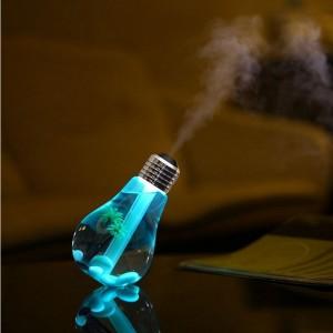 Humidificateur d'air en forme d'ampoule - AromaLED