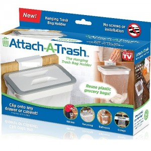 Attach a Trash - Support De Sac Poubelle Cuisine