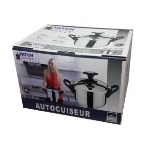 Autocuiseur inox - Tatch SwissTech - 6l