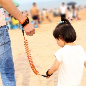 Bracelet Anti-Perte d'Enfant Avec Câble Étirable