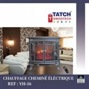 Chauffage Cheminee éléctrique - Tatch SwissTech