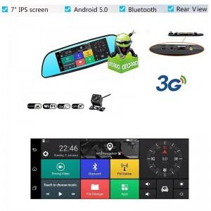 Dashcam - Rétroviseur Voiture Android
