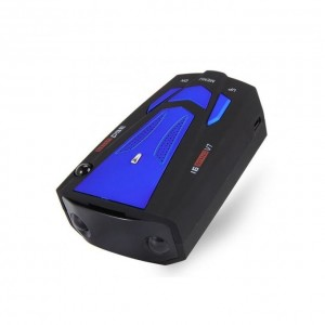 Detecteur de radar 16 Band V7 GP Voice Alert Laser LED