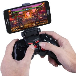 Dobe jeu sans fil Bluetooth Controller gamepad Joystick pour Android IOS Apple Smart Mobile téléphone / Tablet PC