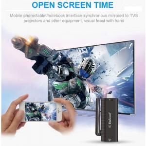 Dongle Mirascreen - Sans-fil HDMI DONGLE 2.4GHz Miracast WiFi Avec Antenne