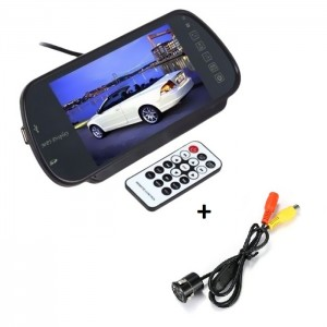 MP5 Écran Full HD Avec Bluetooth SD Carte et USB + Caméra de Recul Arrière