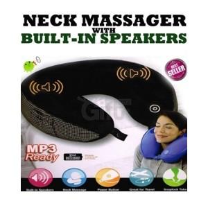 Oreiller Massage Avec Haut-Parleurs Intégrés