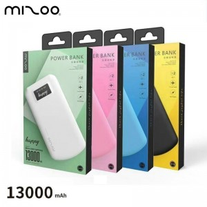 Power Bank - Happy - MIZOO 13000 mAh - Super fine
