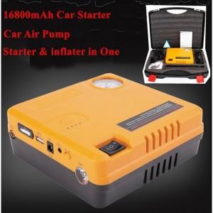 Power Bank Multifonction Démarreur Batterie Voiture, Chargeur Pour Appareil Électrique & Compresseur d'Air