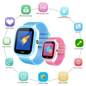Montre Étanche avec GPS & SOS pour Enfants