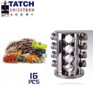 Présentoir a épices de 16 Pots - Tatch Swisstech