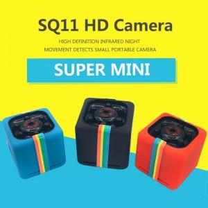 Super Mini Caméra Wifi Panoramique - SQ11 HD - Portable 12MP Full HD - 1080p Vision nocturne
