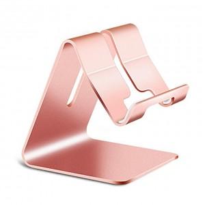 Support Universel en Aluminium - Support de Bureau pour Téléphone Portable