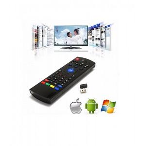 Télécommande AZERTY 2.4g Motion Détection Sans Fil et Bluetooth