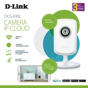 Dlink DCS-930L WiFi Cloud Camera