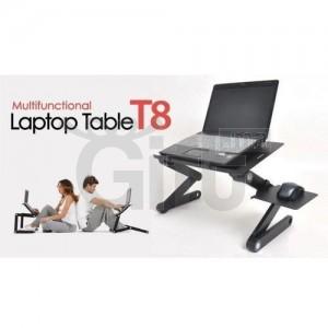 Table Pliante De PC Portable & Refroidisseur Avec Ventilateur