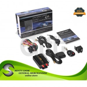 Système de suivi de véhicule GPS / SMS / GPRS Tracker V2.0-103AB
