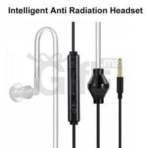 Écouteur Anti-Radiations Intra-Auriculaire pour Tubes à vide avec Oreillette Monaural avec Micro
