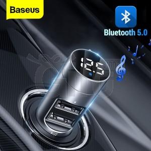 Baseus FM Transmitter Car Bluetooth 5.0 FM