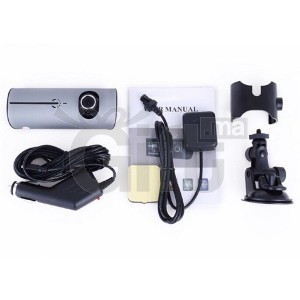 Dashcam - Camera double objectif GPS Grand Angle - R300