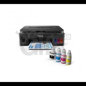 Canon Imprimante Multifonction WiFi PIXMA G3411 Jet d'encre, Jeu de bouteilles inclus + 1 bouteille d'encre noir supplémentaire