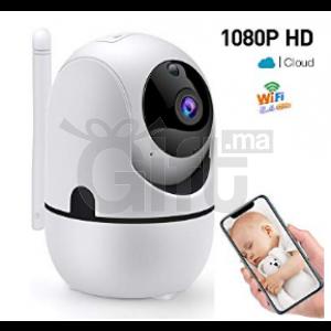 Caméra de sécurité Wifi extérieure imperméable 1080P 360 degrés EC80-U15