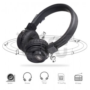 Casque Bluetooth NIA - X5SP Sans Fil Stéréo