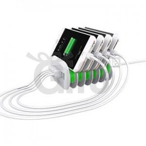 Chargeur 6 ports USB pour téléphones et tablettes - LDNIO