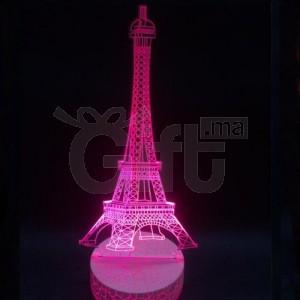 Créative Lampe de Bureau de Table 3D