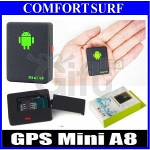 Traceur Dispositif de Suivi GPS - Micro Espion GSM - Mini A8