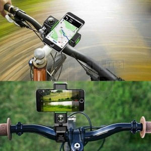 Support multifonctionnel pour vélo réglable avec boussole